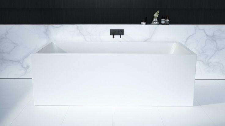 Caroma Liano 1400mm Back-To-Wall Freestanding Bath - Baths & Spas - Baths & Toilets - Bathroom, Tiles & Renovations | Harvey Norman Australia