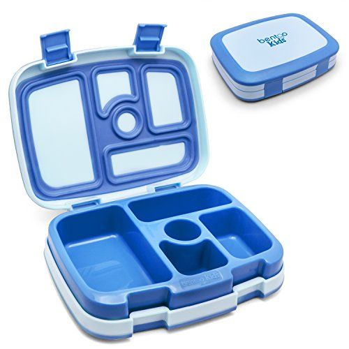 Bentgo Kids Children's Lunch Box - Bento-Styled Lunch Solution Offers Durable, Leak-Proof, On-The-Go Meal And Snack Packing (Blue), 2015 Amazon Top Rated Backpacks & Lunch Boxes #Kitchen