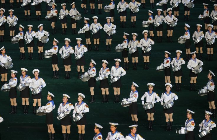 North Korea's Arirang mass games – in pictures