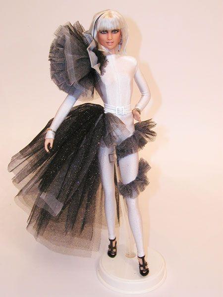 Lady GaGa in Paparazzi. ooak barbie by Magia2000