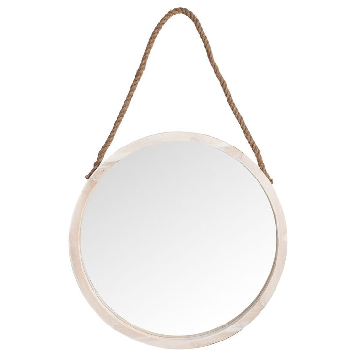 76 best images about d co scandinave nordique on for Miroir rond corde