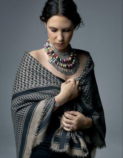 style inspiration- Tatiana Santo Domingo : via Elle -France- Tatiana Casiraghi