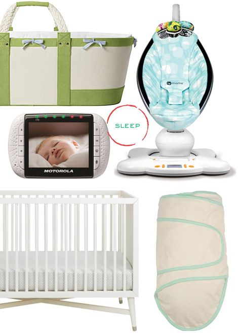 a guide to the best things to buy/register for with your first baby