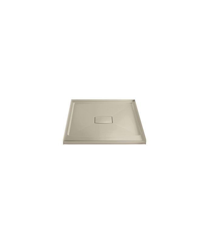 Kohler K-9393 Center Drain Shower Receptor from the Archer Series Sandbar Showers Shower Pans Single Threshold