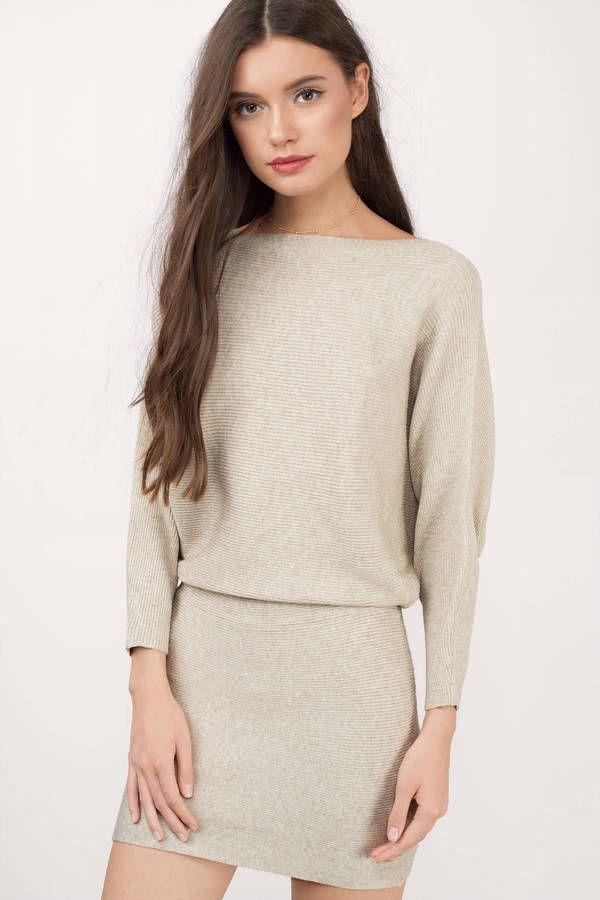 Here For You Sweater Dress at Tobi.com #shoptobi