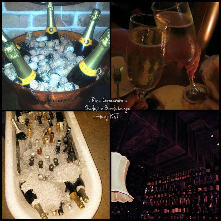 Charleston Bubble Lounge, champanheria - Copacabana