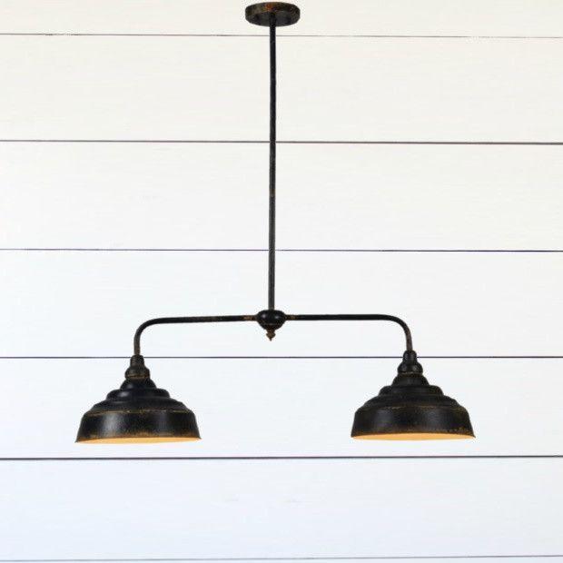 Double Dome Linear Pendant Light Linear Pendant Lighting