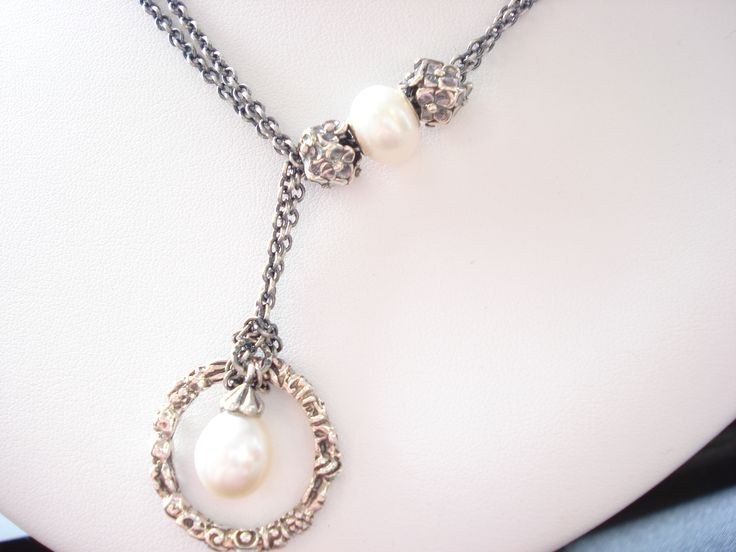 A new way to wear the Trollbead Troll Ring with the Pearl Fantasy Necklace.