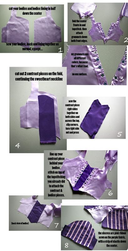 The Train To Crazy: Handmade Costume Series: DIY Rapunzel Dress Tutorial
