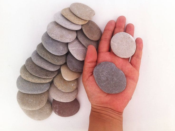 35 best sea stones beach pebbles craft supplies images on for Flat stones for crafts