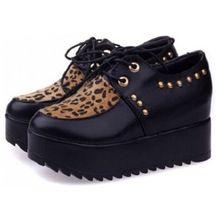 Kobiet buty jesień pnącza skórzane kobiet Buty Platformy Kobiet mieszkań buty klinowe wysokie obcasy botki(China (Mainland))