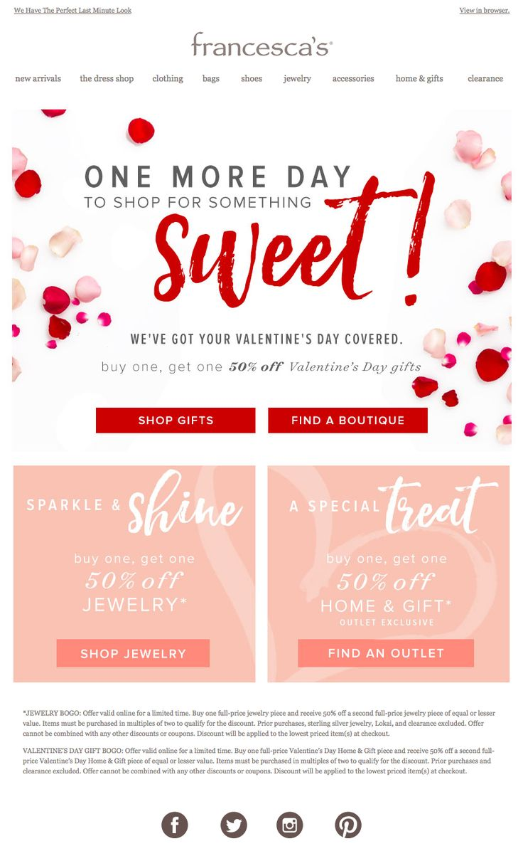 Poster design price - Valentine S Day Email 2016