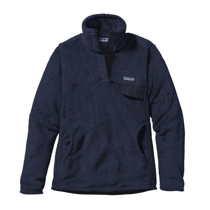 Patagonia Women\'s Re-Tool Snap-T\u00AE Fleece Pullover - Navy Blue - Navy Blue X-Dye NVYX