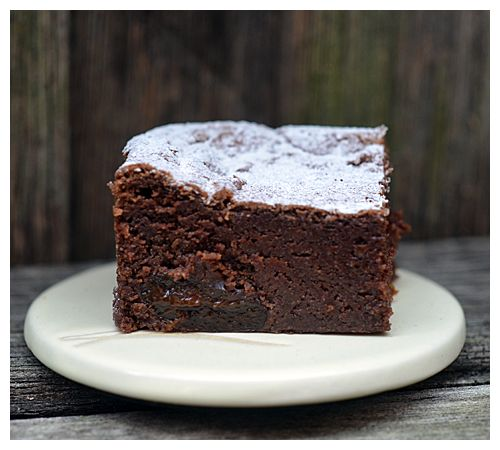Dark chocolate and prune cake - I don't care what anybody says! I love ...