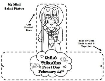 161 best images about catholic cutie on pinterest for St valentine coloring pages catholic