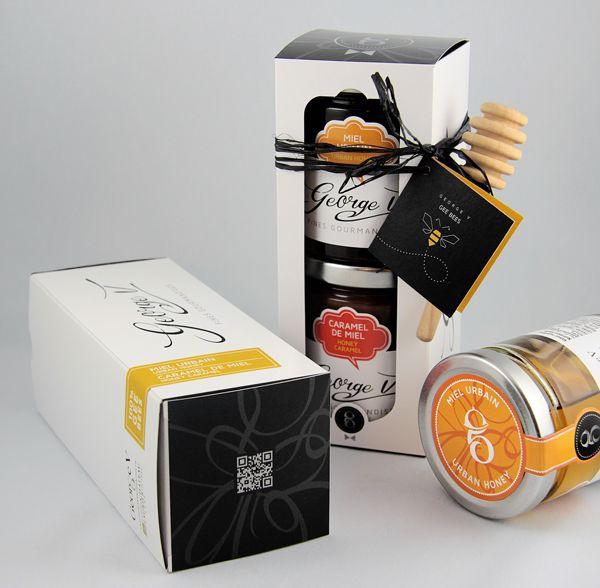Miel + Caramel de miel urbain de nos G-bees www.legeorge-v.com