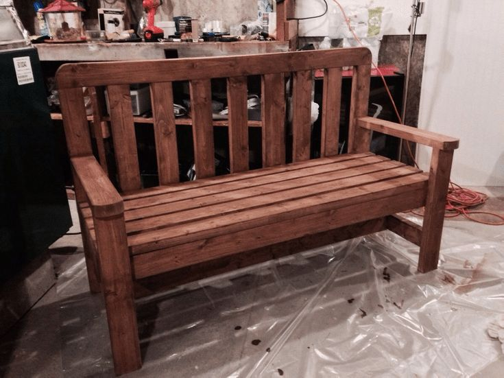 Build a Beautiful Bench with These Free DIY Woodworking Plans: HowToSpecialist's Free Bench Plan