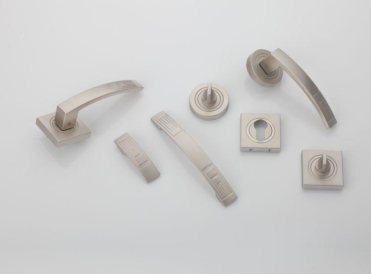 Kolekcja Hydra #gamet #doorknob #doorhandle #knobs #handles #design #retro #rustical #vintage