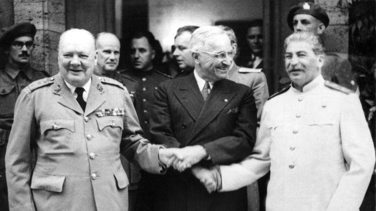 Potsdamer Konferenz Juli 1945, Schloss Cecilienhof