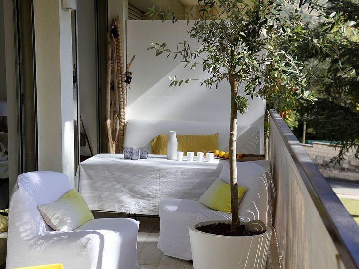 Location vacances appartement Cassis: BALCON COTE CAP CANAILLE
