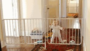 Extra Wide Baby Gate [EX-5] - $144.95 : Baby Safety Gates and Home Safety Products, Fireplace Safety Gates|Outdoor Baby Gates|Baby Gates for Stairs