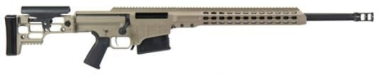 "Barrett MRAD Multi Role Adaptive Design .338 Lapua Magnum 24"" Fluted Barrel with Flat Dark Earth Cerakoted Receiver10rd - Impact Guns"