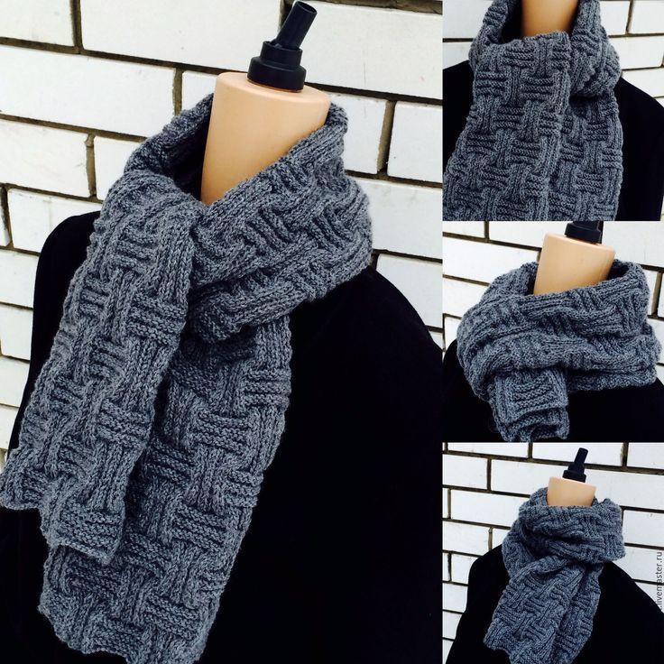 Купить Шарф мужской Brutal - шарф, шарф мужской вязаный, вязаный шарф, подарок
