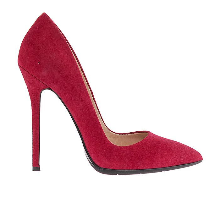 1203A00-RED SUEDE #mourtzi #heels #high_heels #wow #sexy #pumps #redshoes www.mourtzi.com