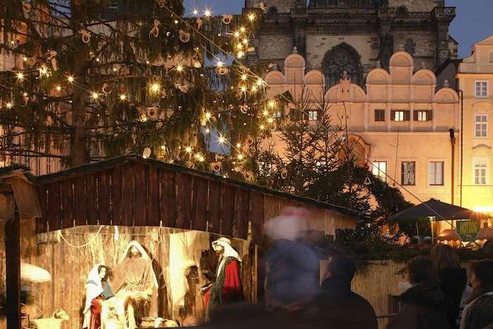 Nativity scene, Prague's Christmas markets (c)Prague Tourism