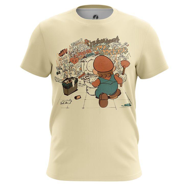awesome T-shirt Mario Brothers Nintendo Console Art Old Game Illustration Merch Loot  -   #amazon #Apparels #australia #boy #buy #ebay #Female #girls #india #kids #loot #Male #merch #merchandise #purchase #shirts #t-shirts #ukMerch