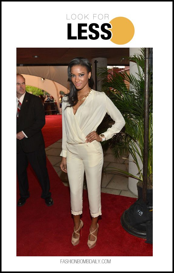 Look for Less: Miss Universe Leila Lopes at The Avengers 2012 Tribeca Film Festival Premiere