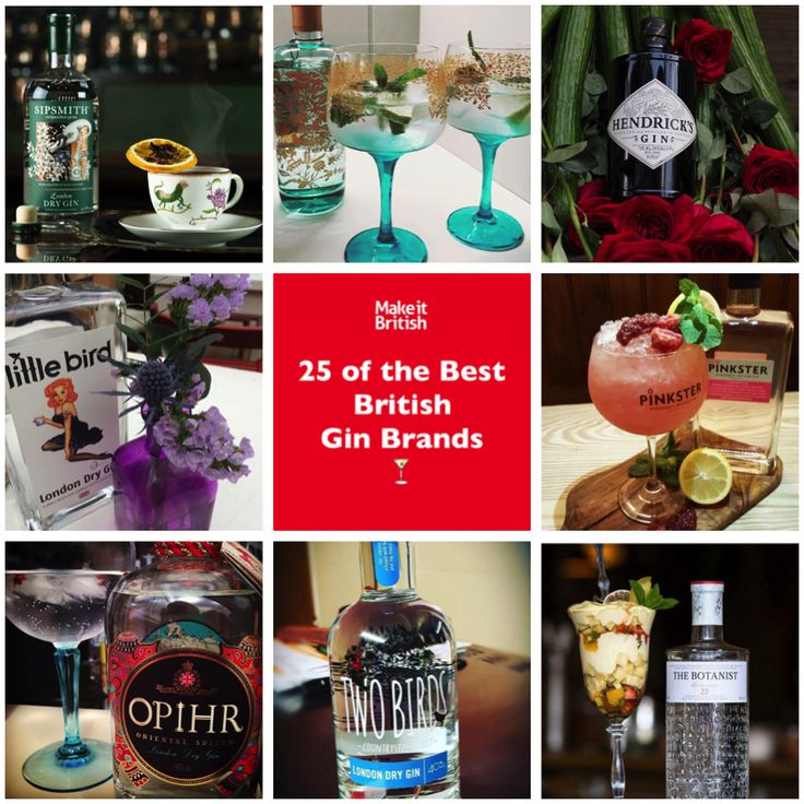 We like a G&T, so it is with great pleasure we bring you the Top 25 British gin brands