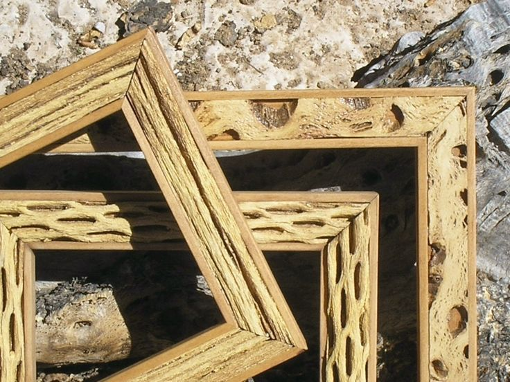 "Cactus Style picture frame 11x14, 10x10 or 12x12 ""Saguaro Rib"" or ""Cholla"" or ""Split Cholla"" Style Picture photo frame. $39.85, via Etsy."