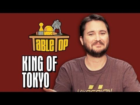 King of Tokyo: Totalbiscuit, Greg Zeschuk, Craig Benzine, and Wil Wheaton on Tabletop SE2EP4 - YouTube