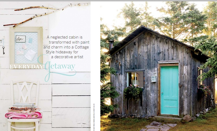"Gold winner in Homes & #Gardens. ""Everyday #Getaway"" by Stacey Haines published in #Canadian Home & #Country, 2008."