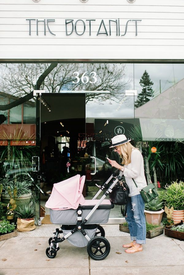 Explore exciting Los Altos with our Founder Taylor Sterling, her adorable baby girl & Bugaboo!