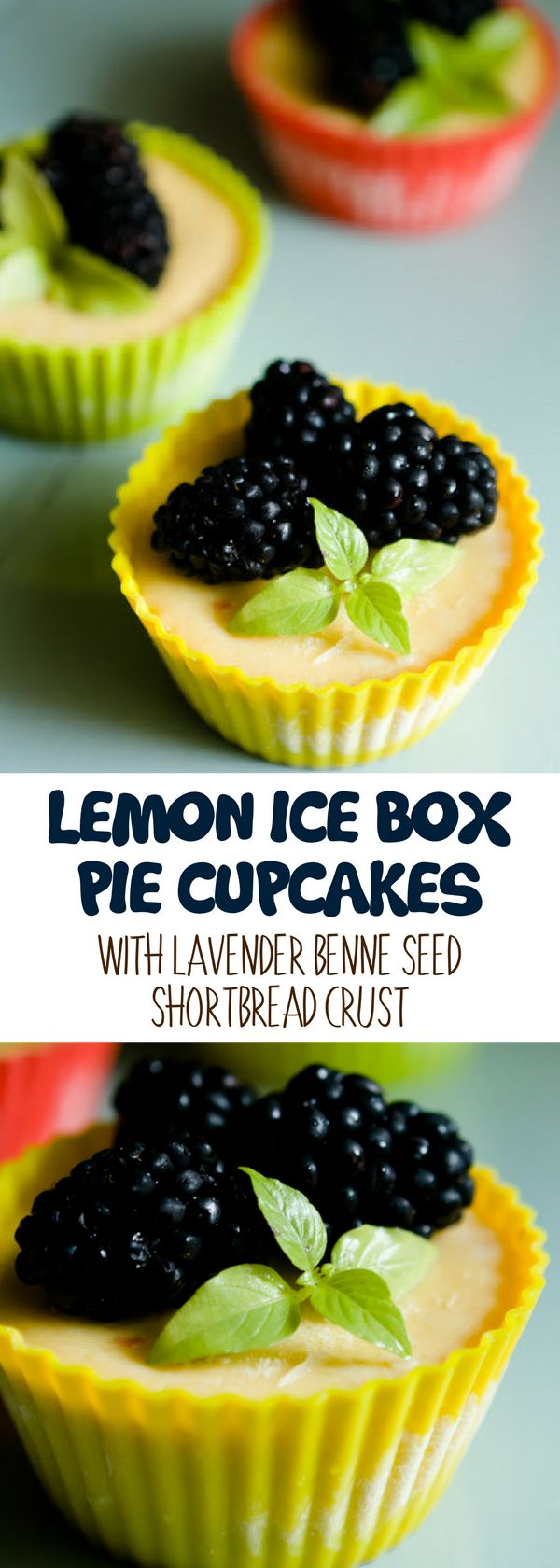 Lemon ice box pie is the lemon version of key lime pie. It's a delicious cupcake better served frozen. For more simple baking desserts recipes and homemade sweet treats, check us out at #cupcakeproject. #desserts #yummydesserts #recipeoftheday #sweettooth