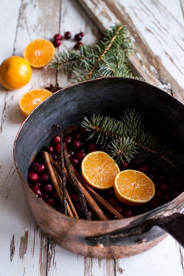 Hausgemachte Feiertage: Lassen Sie das Haus nach Weihnachten riechen