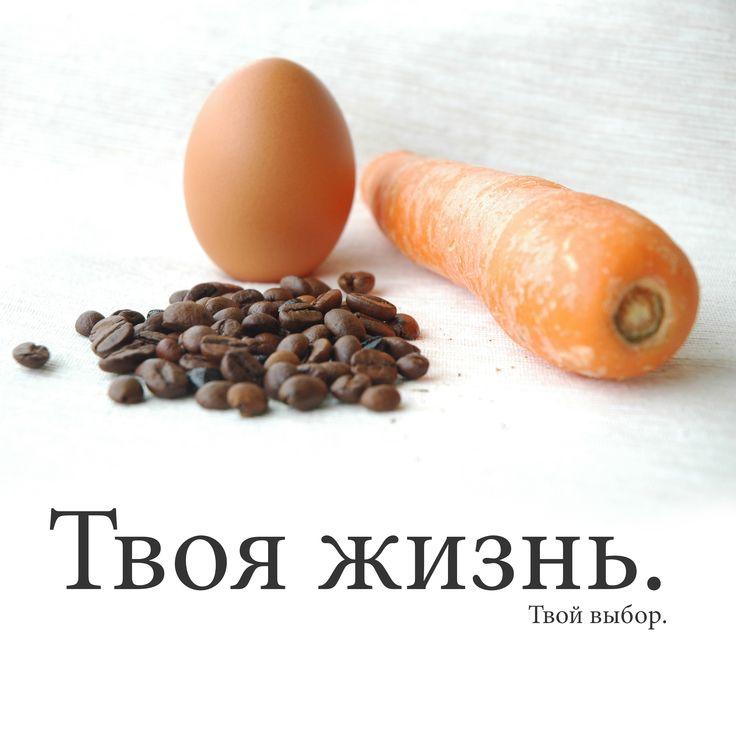 Однажды в гости к пожилому отцу пришла его одинокая взрослая дочь:  - Папа, я устала жить... я устала от постоянных трудностей и бесконечных проблем. Папа, какой в этом всём смысл?..  Вместо того чтобы ответить, отец встал и...  Вдохновляющие истории на http://Uucyc.ru/story/-carrots-eggs-coffee