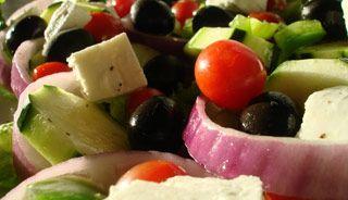 #Salade grecque minute #recettesduqc #sante