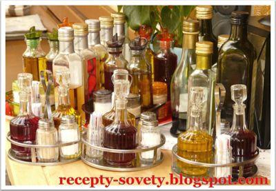 Копилочка Хозяюшки: Уксус - хранение, приготовление и использование :)...