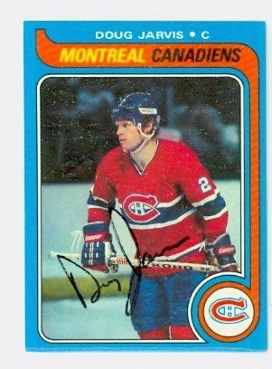 Doug Jarvis AUTO 1979-80 Topps Canadiens by Regular Topps Issue. $5.00. This card was signed by Doug Jarvis and authenticated by JSA - a leading 3rd party authenticator
