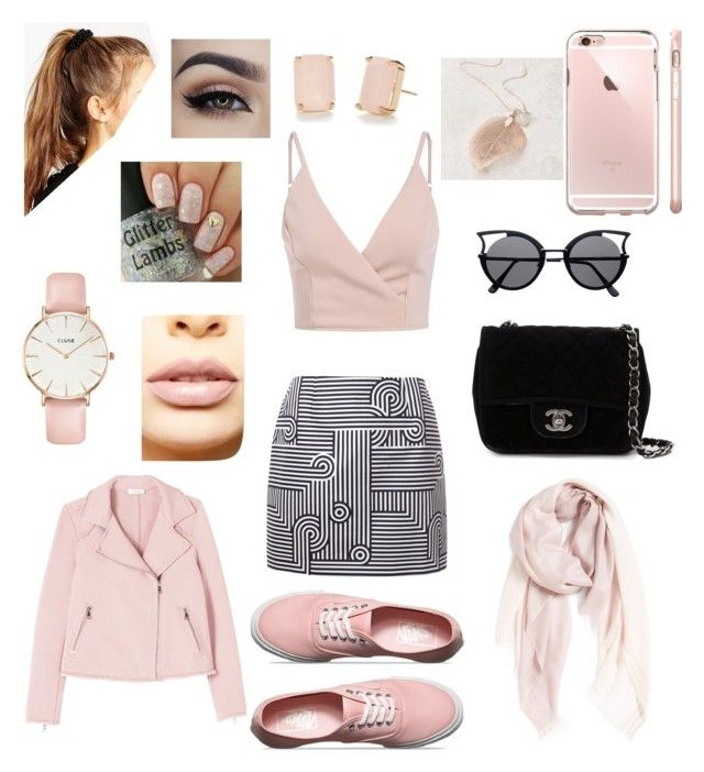 """""""Rosse."""" by andrea-serena-caceres on Polyvore featuring Victoria, Victoria Beckham, Vans, Chanel, ASOS, Rebecca Taylor, Nordstrom, LASplash, CLUSE and Kate Spade"""
