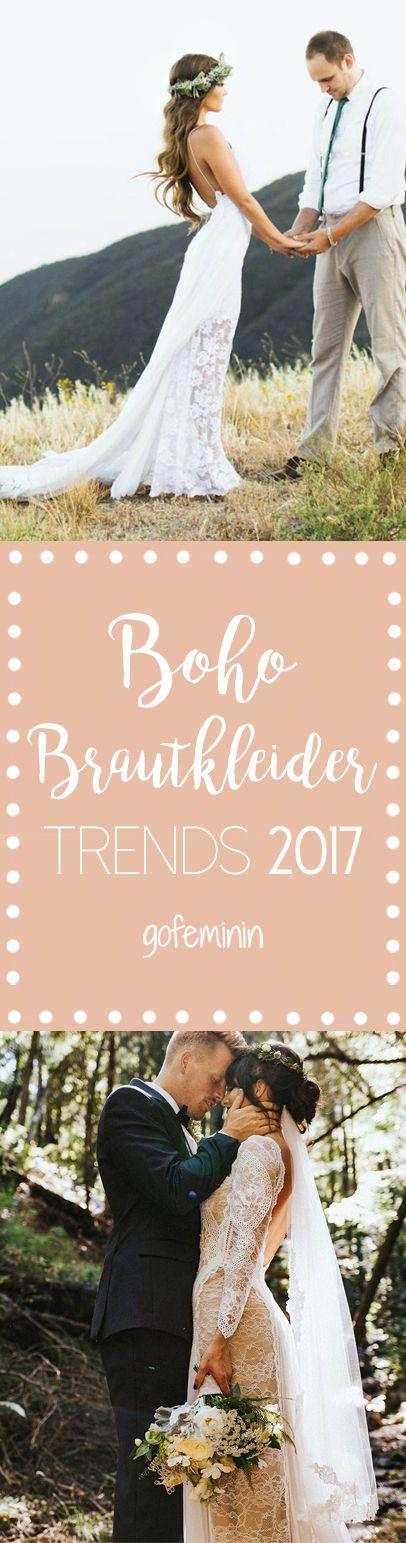 Die schönsten Boho-Brautkleider findet ihr auf www.gofeminin.de  Brautkleider von Grace Loves Lace