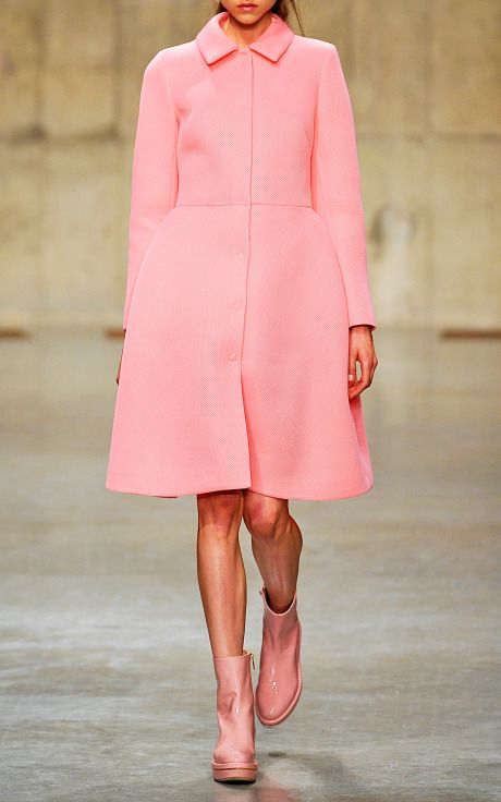 Simone Rocha F/W 2013 - not a huge fan of this collection, but I want this coat.
