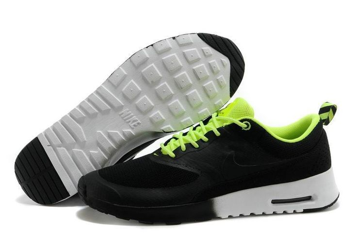 Nike Air Max Thea Mens Black Fluorescent Green