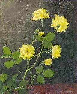 ollie hjortzberg | 1619. Olle Hjortzberg, Gula rosor