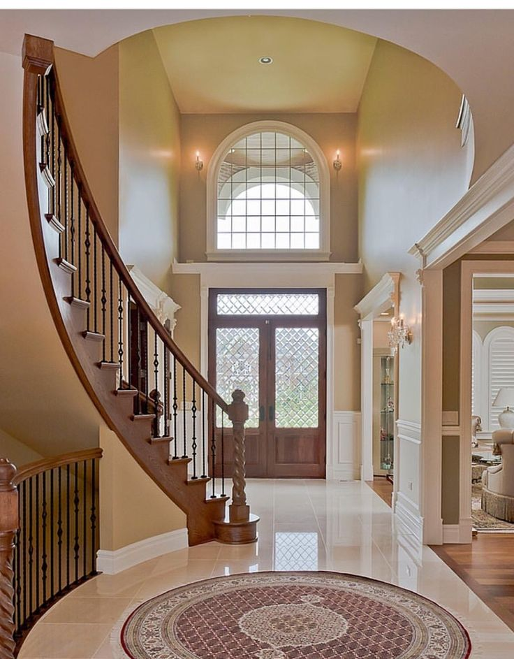 Foyer With Stairs To Basement : Best dream home inspiration images on pinterest