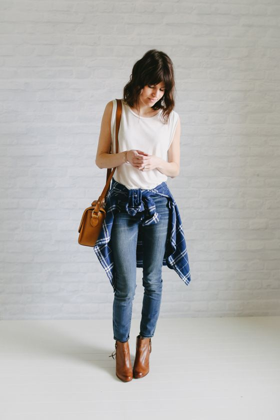 spring style - casual but feminine at the same time