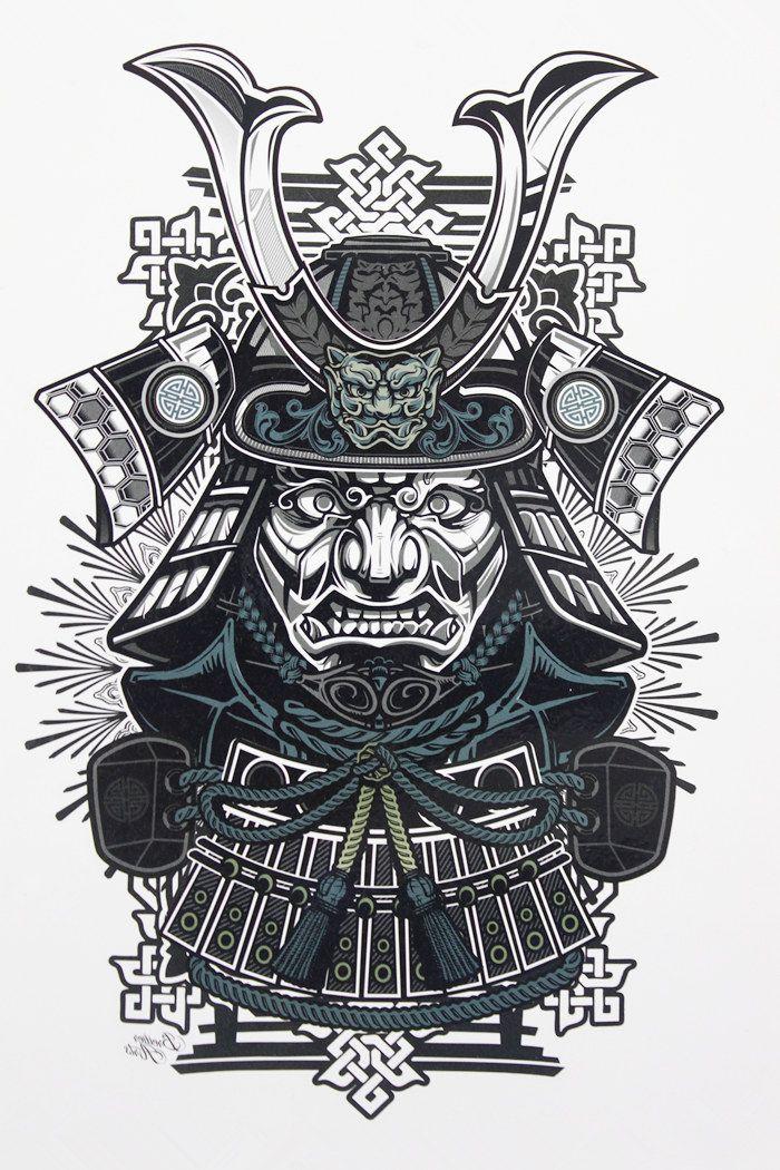 Best 25 Japanese Warrior Tattoo Ideas On Pinterest